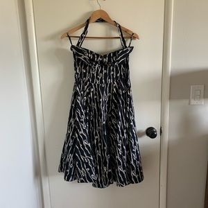 Anthropologie A-line 50s-inspired dress.